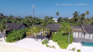 Euro-Divers The Residence Maldives - Aerial Views