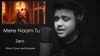 Mere Naam Tu | Cover | Piano | Karaoke | Sing Along