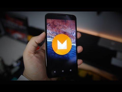 تجربة نظام الجديد Android M