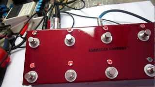 Custom Build True Bypass Looper 10CH Made for Shecter Guitars Tap Tempo American Loopers