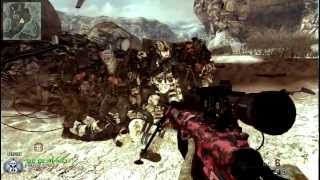 Modern warfare 2 trickshot 3 spins slow motion