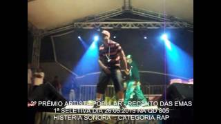 HISTERIA SONORA - CATEGORIA RAP.