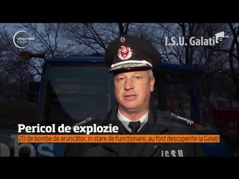 Pericol de explozie la Galați