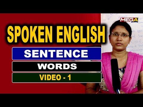 Download thumbnail for Spoken English in Telugu   Basics of