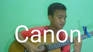 Canon Rock ( Jerry c ) Acoustic guitar cover - Rey Ibanez