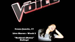 The Voice Live Shows Week 3 Ivana Jancic Rodjeni (Bato)