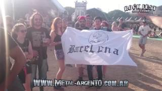 Resumen: Rata Blanca - Rock Fest Barcelona 2016