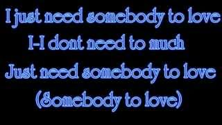 Justin Bieber feat. Usher - Somebody To Love Lyrics on Screen in HD