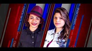 Tori Huang x Sarah Lorena (Flashlight - Jessie J) The Voice Brasil 2015