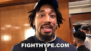 """DEMETRIUS ANDRADE RESPONDS TO JERMALL CHARLO; SAYS HIS RESUME AT 160 IS """"WAY BETTER"""""""