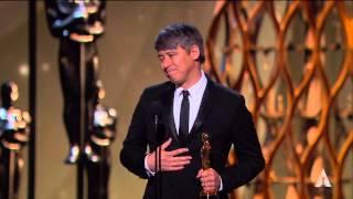 """Whiplash"" winning the Oscar® for Film Editing"