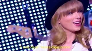 Taylor Swift - We are never ever getting back together LIVE subtitulado en español