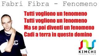 Fabri Fibra – Fenomeno / Testo / Lyrics