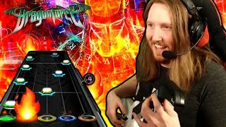 Dragonforce REALLY likes fire [GUITAR HERO X]
