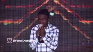 Josué Espinoza - Color Esperanza | (Programa 4) Casting Factor X Kids Ecuador 2015
