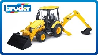Bruder Toys JCB MIDI CX Backhoe Loader #02427