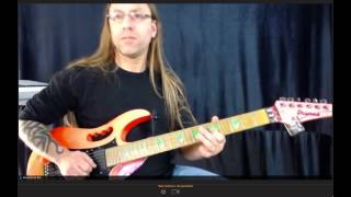 Quick Vibrato Exercise from Steve Stine - Clip from Live Online Class