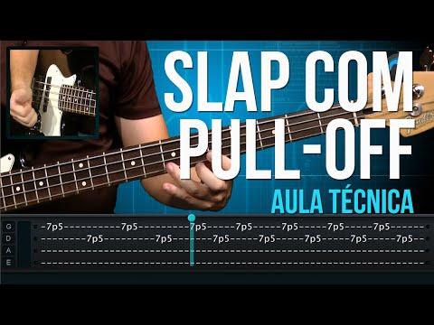 Exercícios de Slap com Pull-Off (aula técnica de contra-baixo)
