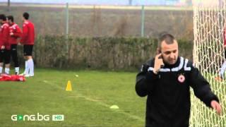 Администраторът на ЦСКА тренира с телефон