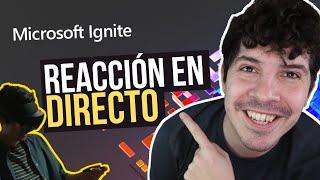 Reacción  Microsoft Ignite 2021 🔥 - Microsoft Mesh 👓 y Keynote ¡En Directo!