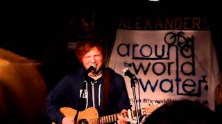 Ed Sheeran - The A Team (Live)