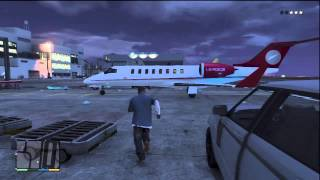 GTA 5: How To Steal a Private Jet On GTA V