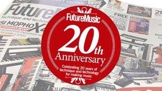 Future Music Magazine 20th Anniversary Cover Shoot - The making of