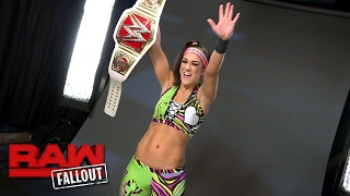 Sesión de fotos de Bayley como campeona de Raw