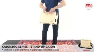 Cajon2Go Series - Stand-Up Cajon - CAJ2GO-1
