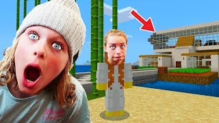 BEST HOUSE ON WATER in Minecraft COMPETITION Gaming w/ The Norris Nuts