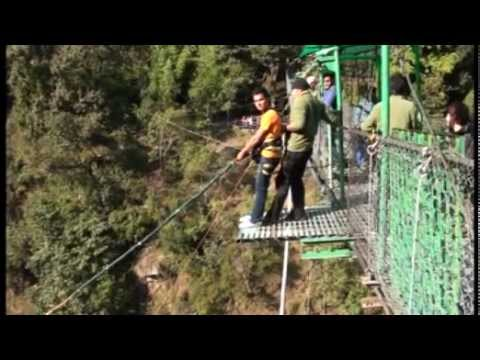 Nabin Swing at Bhotekoshi Nepal