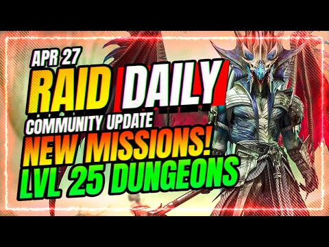 NEW MISSIONS! Lvl 25 Affnity CONFIRMED! | RAID Shadow Legends