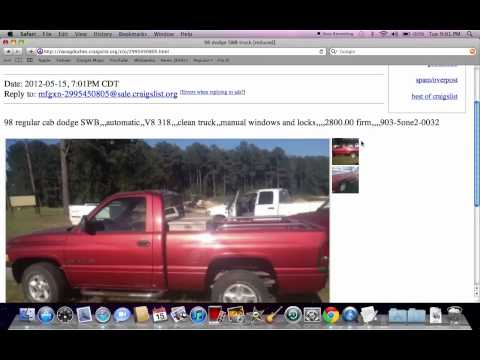 Check It Craigslist Tyler Tx Cars Trucks For Sale By Owner ...
