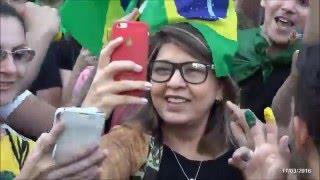 Roberta Miranda  Foi  Pra rua. Av Paulista - Meu País