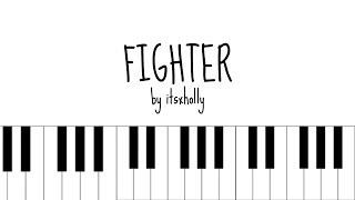 FIGHTER - MONSTA X - Piano Tutorial
