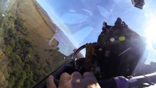 Low Level with ZS-IMP and Johan Venter driving