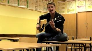 Avicii - Wake me Up cover (school break)