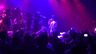 Skeme performs on Lil Uzi Vert's Left Right Tour stop in Hollywood, CA