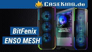 Bitfenix Enso Mesh Midi Tower - Caseking TV