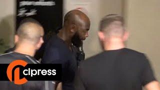 Booba et Kaaris en prison avant leur procès en septembre (3 août 2018, Créteil, France) width=