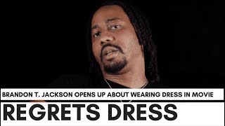 Brandon T. Jackson Regrets Wearing Dress With Martin Lawrence: