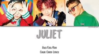 EXO-CBX (첸백시) - JULIET [Color Coded Han Rom Eng]