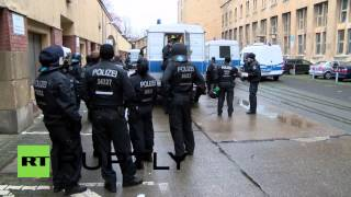 Germany: Multiple arrests as clashes break out at Tempelhof refugee centre