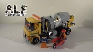 Lego City 60018 Cement Mixer / Betonmischer - Lego Speed Build Review