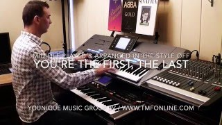 You're the First, the Last, My Everything Barry White Yamaha Tyros 5 Roland G70 by Rico