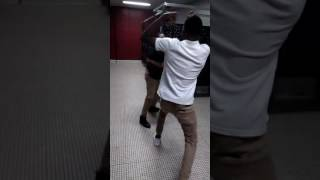 Palm beach highschool fight!! Who you think won??