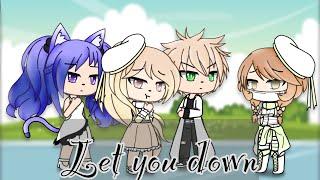 Let you down  Glmv  