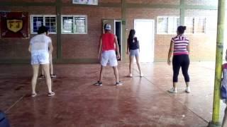 Bailando con las chicas  EXPLOSIÓN SAMBA en posda