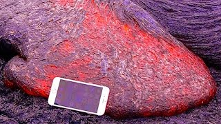 Dropping iPhone X In Lava (PARODY)