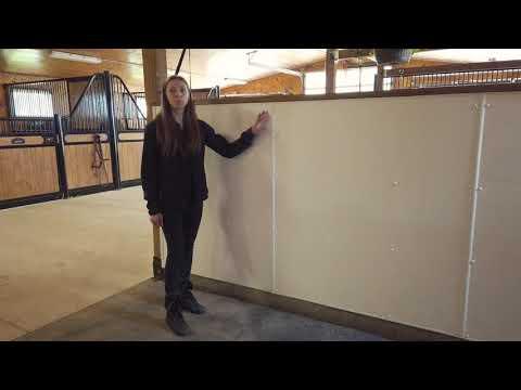 Tuff Board Wash Stall Walls